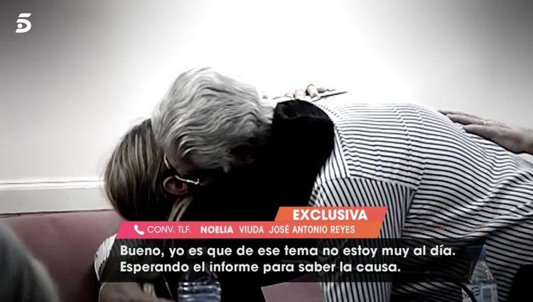 Noelia López hablando para 'Viva la Vida'/ Foto: telecinco.es
