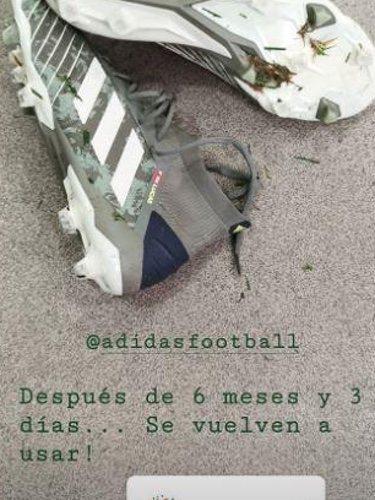 Las botas de Iker Casillas/ Foto: Instagram
