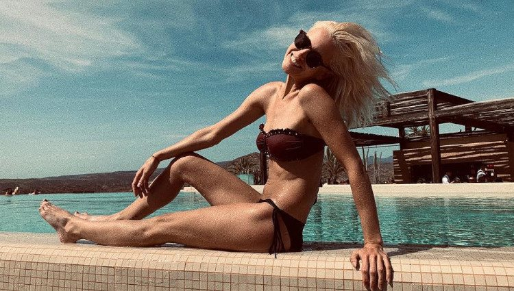 Ana Fernández disfruta de sus vacaciones/Foto: Instagram