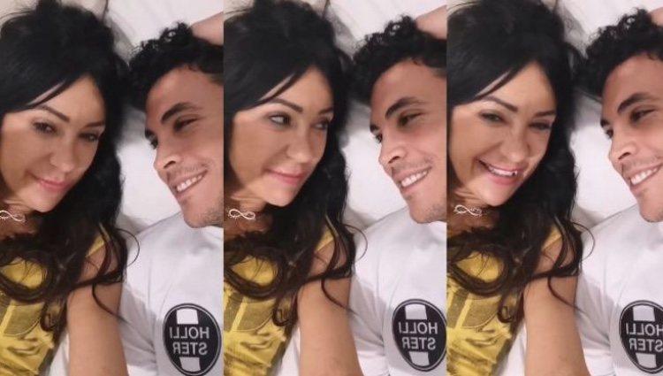 Maite Galdeano y su yerno Kiko Jiménez   Instagram