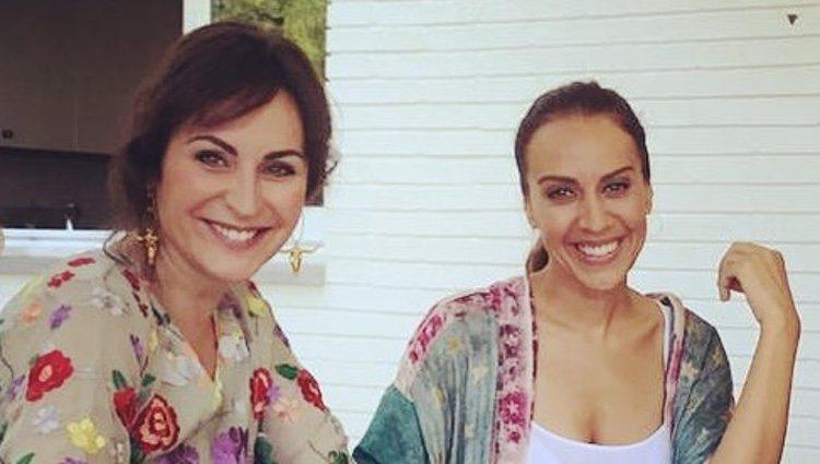 Ana Milán y Mónica Naranjo en casa de la cantante | Instagram