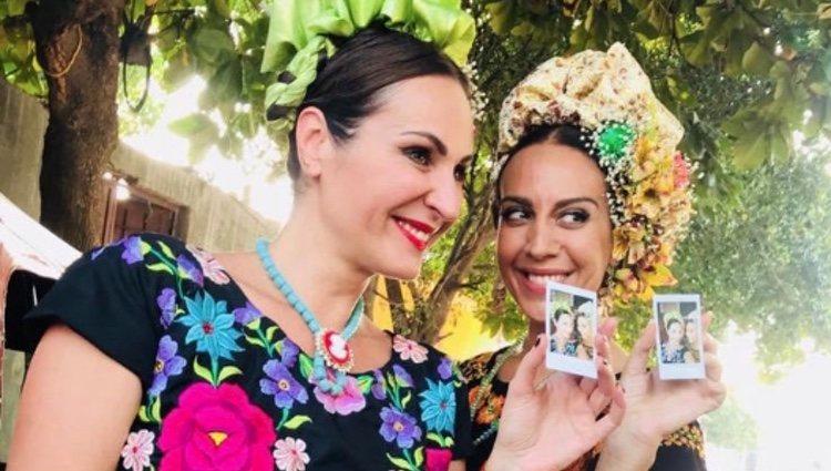 Ana Milán y Mónica Naranjo disfrazadas de mexicanas en México | Instagram