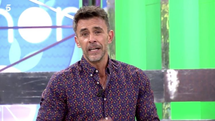 Alonso Caparrós como presentador de 'Sálvame'/Foto: telecinco.es