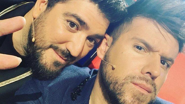 Pablo López y Antonio Orozco | Instagram