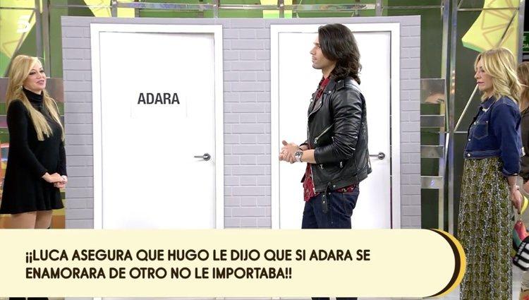 Luca Onestini escogiendo la puerta