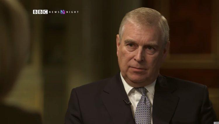 El Príncipe Andrés en la BBC Newsnight/Foto: bbc.com