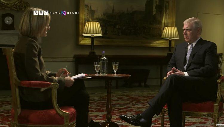 El Príncipe Andrés y Emily Maitlis/Foto: bbc.com
