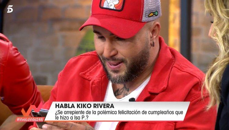 Kiko Rivera llamando a su hermana en directo / Telecinco.es