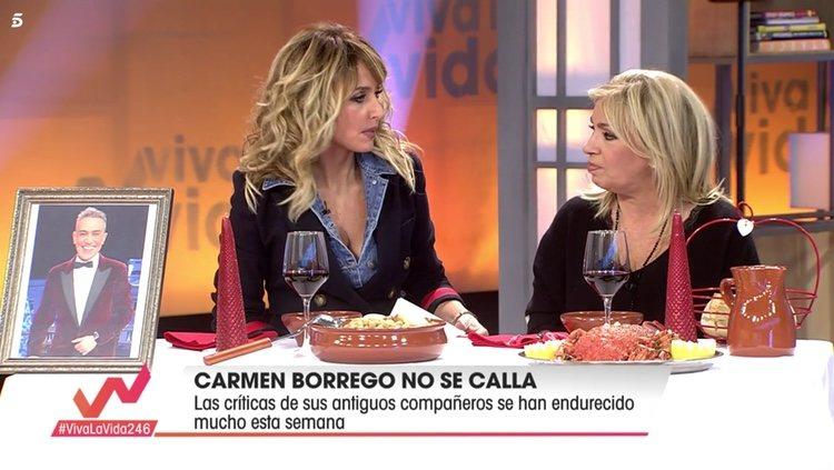 Carmen Borrego defendiéndose de todo | Telecinco.es