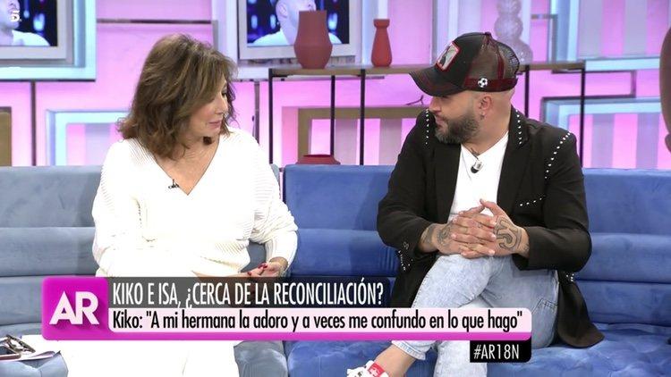Ana Rosa Quintana y Kiko Rivera en 'El Programa de Ana Rosa'   Telecinco.es