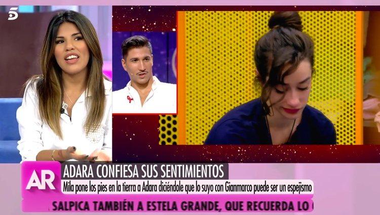 Chabelita hablando de Adara en 'GH VIP 7' / Telecinco.es