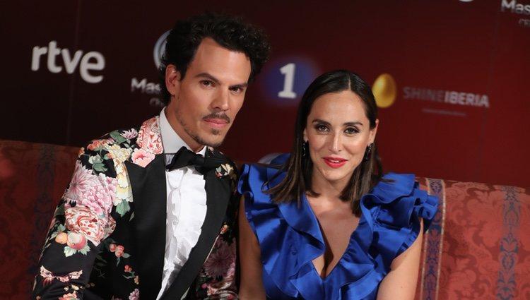Juan Avellaneda y Tamara Falcó en el Festval   Instagram