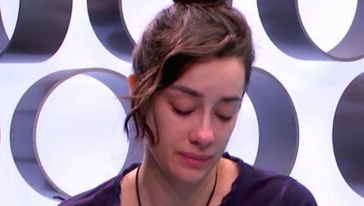 Adara pide perdón a Hugo Sierra   telecinco.es