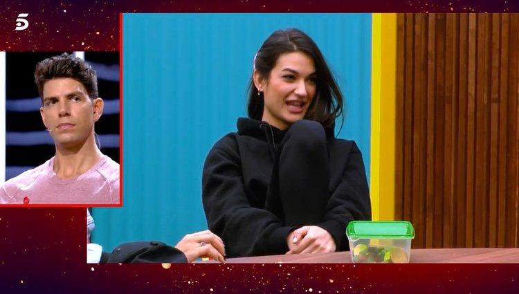 Estela hablando de su relación con Kiko Jiménez / Telecinco.es