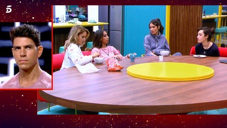 Las chicas de 'GH VIP 7' hablando de Gianmarco / Telecinco.es