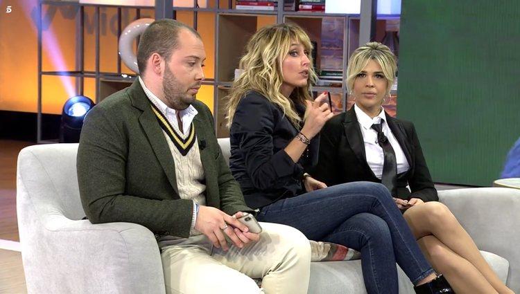 Ylenia no dudó en mostrar su malestar | Foto: Telecinco.es