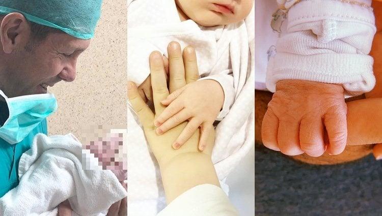 Los bebés de Simeone, Rudy Fernández y Verdasco / Instagram