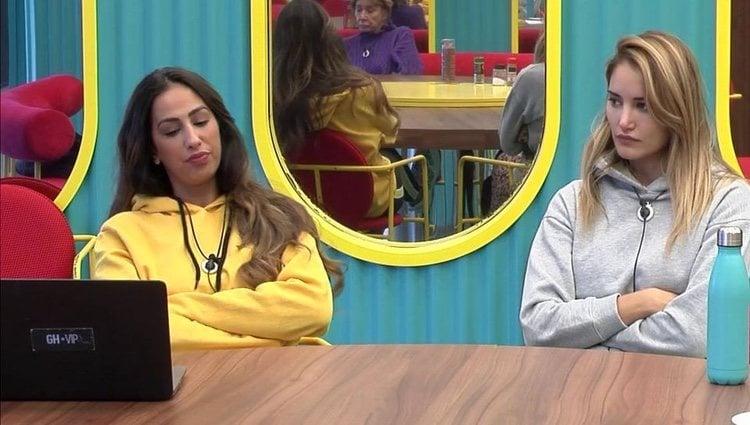 Noemí y Alba hablan de la relación de Adara con Gianmarco   Foto: telecinco.es