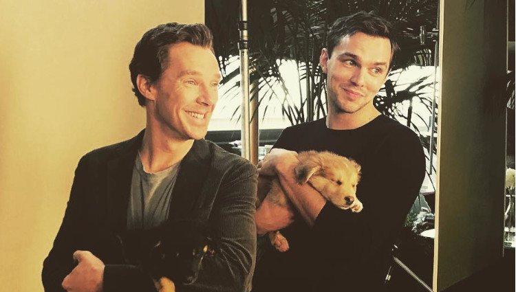 Nicholas Hoult y Benedict Cumberbatch/Foto:Instagram