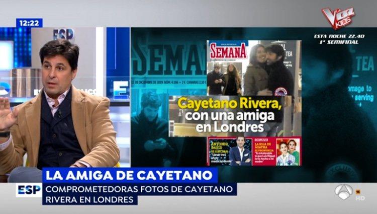 Fran Rivera defendiendo a su hermano Cayetano Rivera / Antena3.com