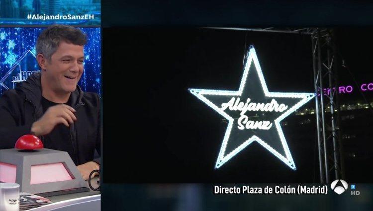 Alejandro Sanz y su sorpresa en 'El Hormiguero' / Foto: Antena3.com