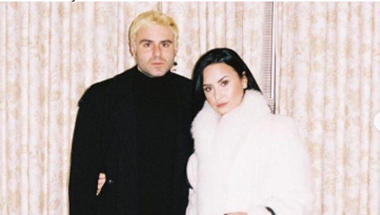 Demi Lovato con Henry Levy/ Foto: Instagram