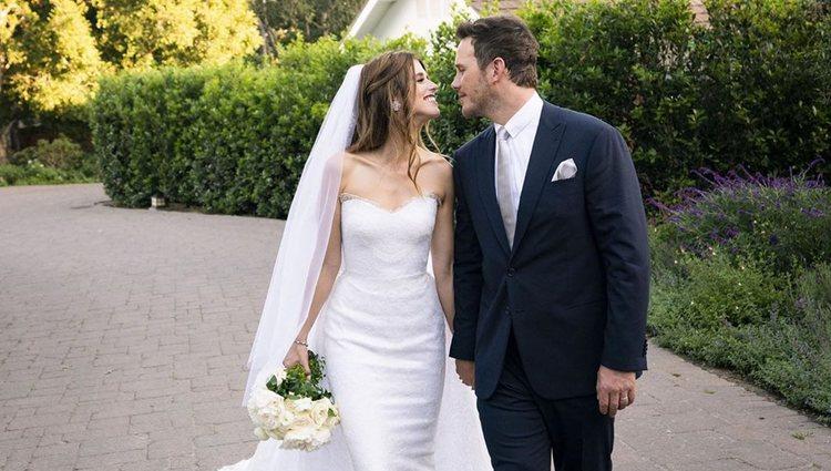 Chris Pratt y Katherine Schwarzenegger se casaron tras 7 meses de noviazgo | Foto: Instagram