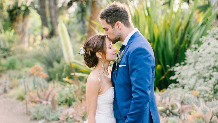 Brant Daugherty y Kim Hidalgo se casaron tras 2 años de relación | Foto: Instagram