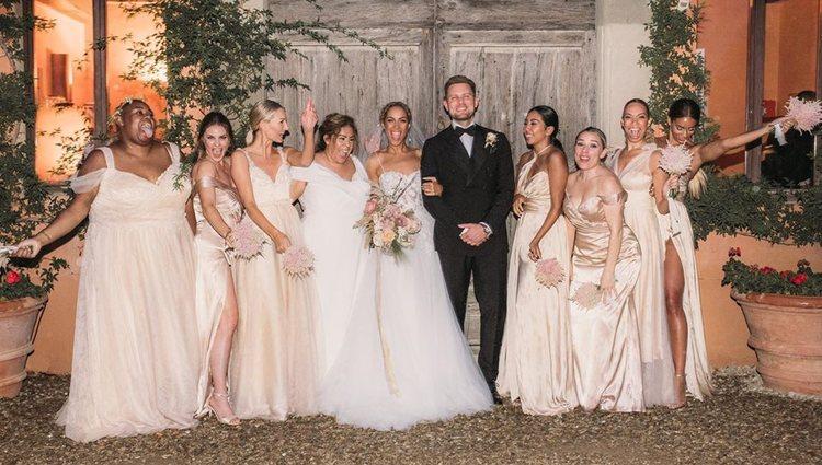Leona Lewis se casó con uno de sus bailarines | Foto: Instagram