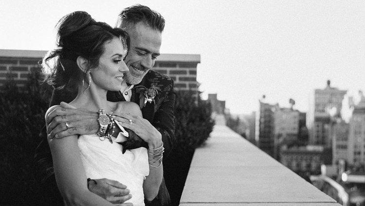 Jeffrey Dean y Hilarie Burton se casaron tras 10 años de relación | Foto: Instagram