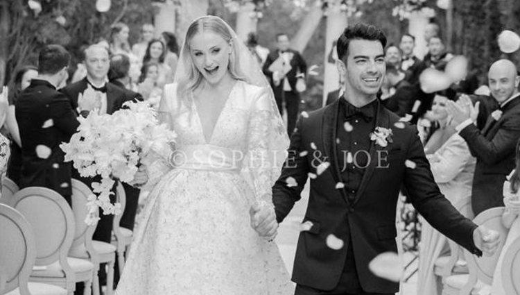 Joe Jonas y Sophie Turner se casaron en Francia | Foto: Instagram