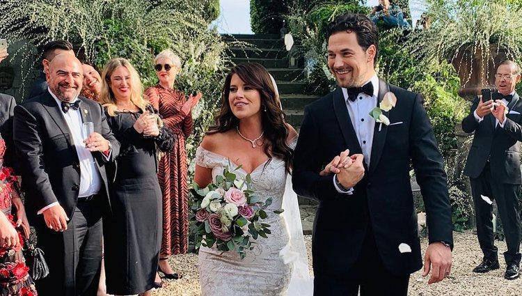 Giacomo Gianniotti (actor de 'Anatomía de Grey') y Nichole Gustafson se casaron en Roma | Foto: Instagram