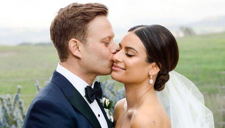 Lea Michele y Zandy Reich se casaron el 8 de marzo en California | Foto: Instagram