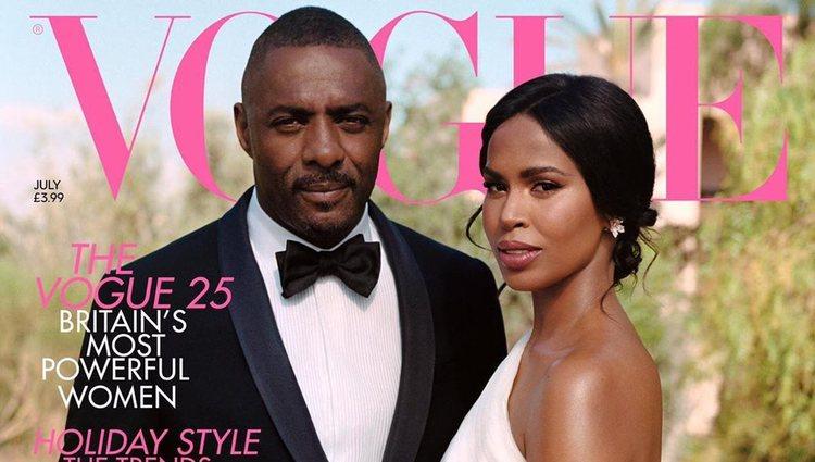 Idris Elba y Sabrina Dhowre no escatimaron en gastos | Foto: Vogue