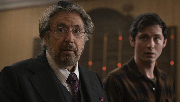 Al Pacino y Logan Lerman en 'Hunters'