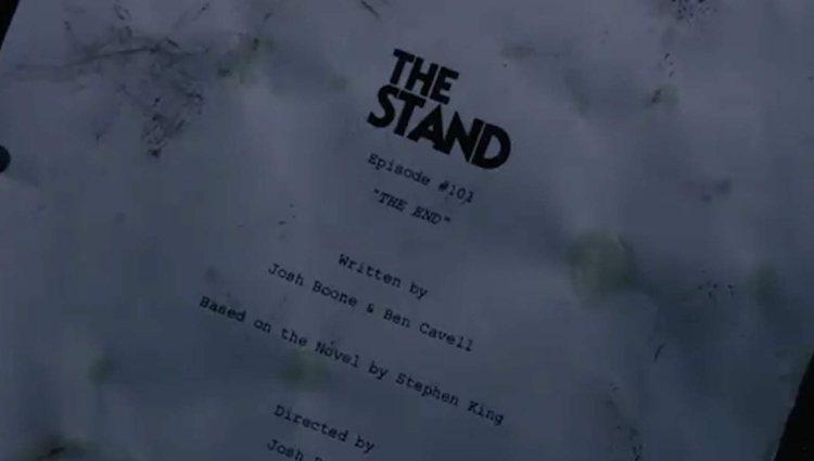 Primera imagen del guion de 'Apocalipsis', serie creada por Josh Boone y Benjamin Cavell