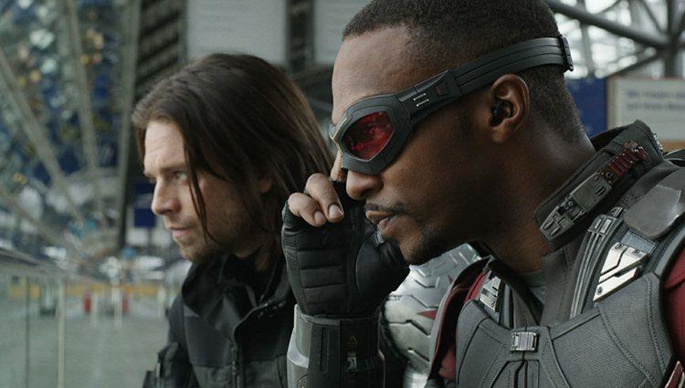 Los protagonistas de la nueva serie de Marvel, 'Falcon y Soldado de Invierno'