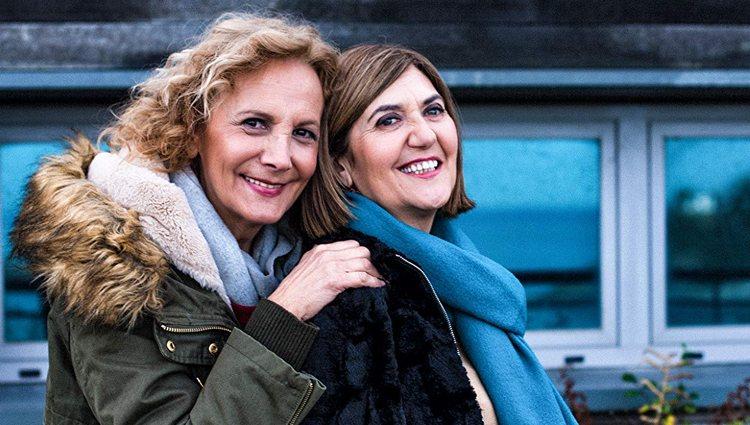 Elena Irureta y Ane Gabarain, las actrices protagonistas de 'Patria'