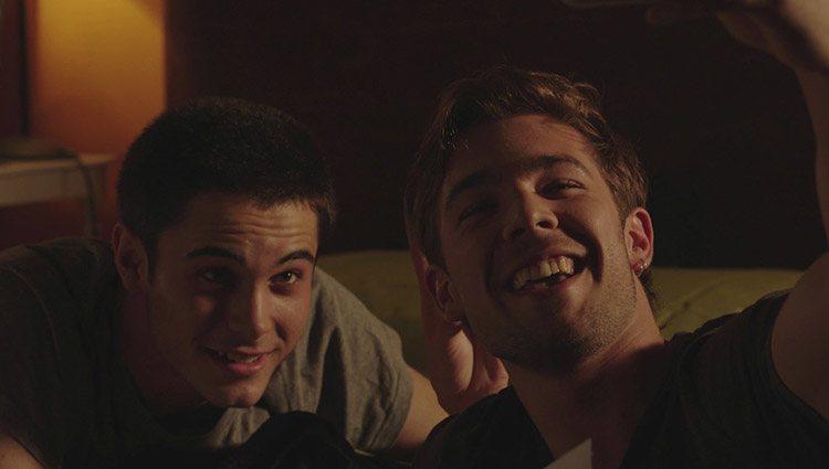 Bruno (David Solans) y Pol (Carlos Cuevas) en 'Merlí'