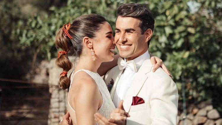 Daniel Muriel y Candela Serrat se casaron el 8 de junio | Foto: Instagram