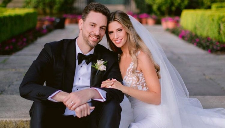 Paul Gasol y Chatherine McDonell se casaron en San Francisco y en España | Foto: Instagram