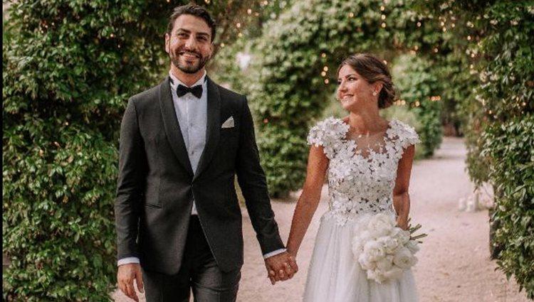 Alexandra Pereira se casó Ghassan Fallaha el 13 de junio | Foto: Instagram
