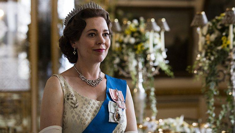 La reina Isabel (Olivia Colman) en la tercera temporada de 'The Crown'   Foto: Netflix