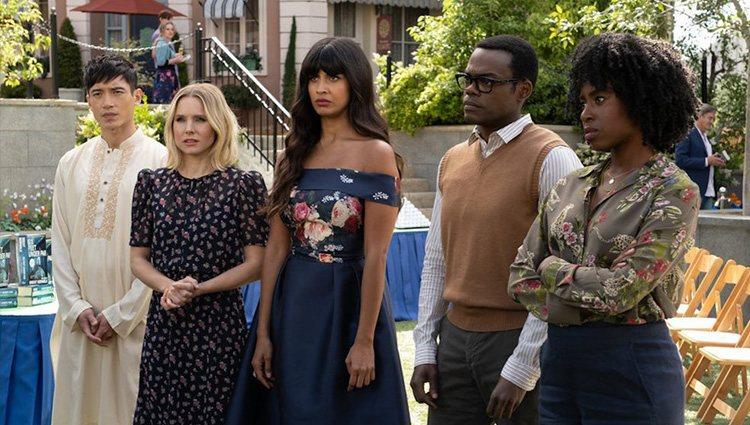 Imagen de la tercera temporada de 'The Good Place'   Foto: Netflix