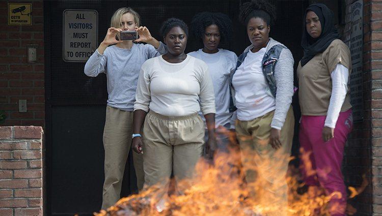 Imagen de la quinta temporada de 'Orange is the new black'   Foto: Netflix