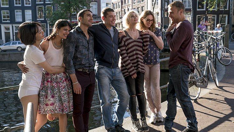 El elenco protagonista de 'Sense8' en una imagen de la segunda temporada   Foto: Netflix