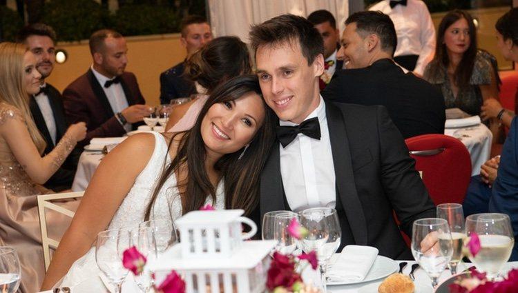 Louis Ducruet y Marie Chevallier en su boda