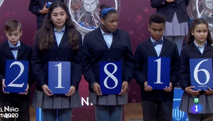 21816, el segundo premio de la Lotería de El Niño / RTVE.es