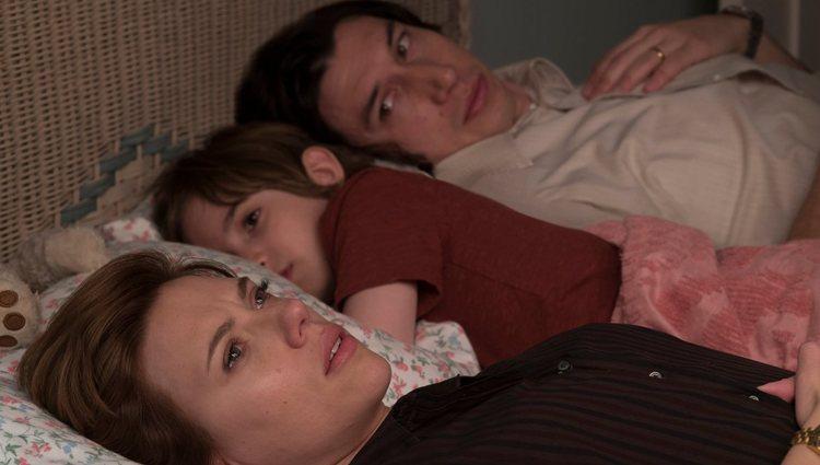 Imagen de la película 'Historia de un matrimonio, protagonizada por Adam Driver y Scarlett Johansson