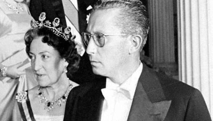 Dolores de Borbón-Dos Sicilias y su segundo marido, Carlos Chías | Pinterest